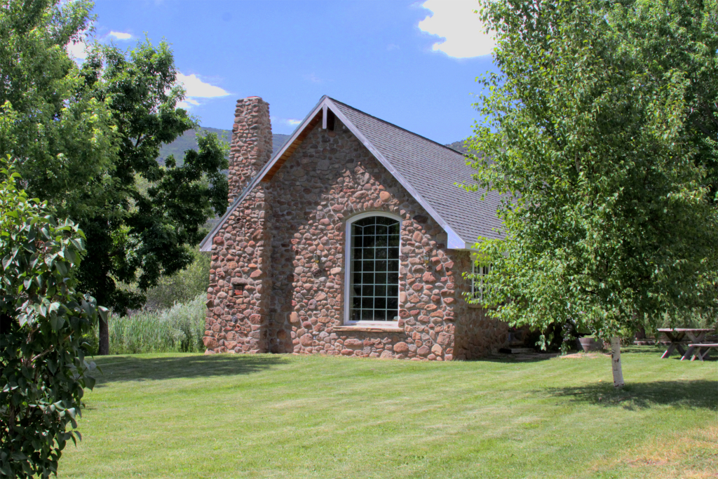 Stone Cottage at Stone Cottage Cellars in Paonia, Colorado