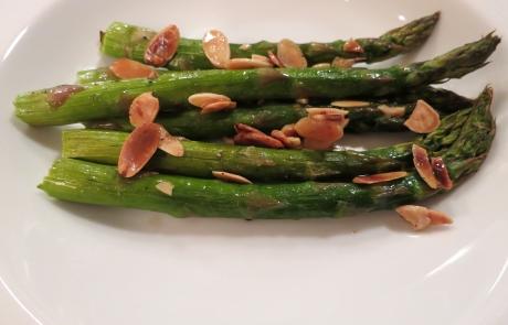 Brent's Almond Asparagus