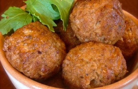 Chef Ron's Lamb Meatballs